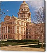 Texas State Capitol Building Canvas Print