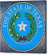 Texas State Seal Canvas Print