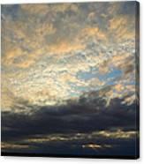 Texas Storm Cloud Sunset Canvas Print