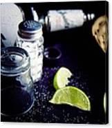 Texas Tequila Slammer 02 Canvas Print