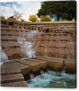 Texas Water Gardens Canvas Print