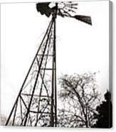 Texas Windmill 2 Canvas Print