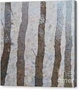 Textural Forest Canvas Print