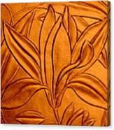 Textured Flower3 Canvas Print