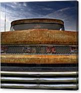 Textured Ford Truck 2 Canvas Print
