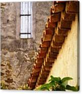 Textures In A Provence Village Canvas Print