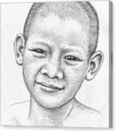Thai Boy Canvas Print
