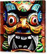 Thai Buddhist Mask Canvas Print
