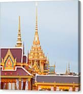 Thai Construction Design. Canvas Print