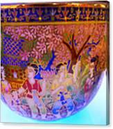 Thai Design Ceramics Canvas Print