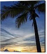 Thailand Sunset Sunrise Canvas Print