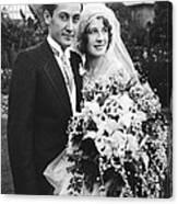 Thalberg And Shearer Wedding Canvas Print