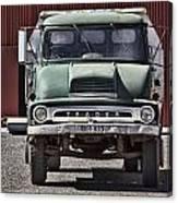 Thames Trader Vintage Truck Canvas Print