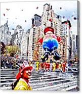 Thanksgiving Parade Canvas Print