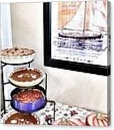 Thanksgiving Pies Canvas Print