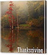 Thanksgiving Reflections Canvas Print