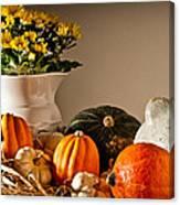 Thanksgiving Still Life Canvas Print