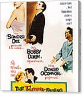 That Funny Feeling, Us Poster Art Canvas Print