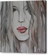 That Lips Canvas Print