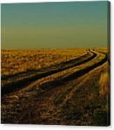 That Long Long Road Canvas Print