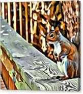 That Squirrel Canvas Print