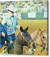 That Was A Good Steer Canvas Print