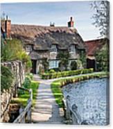 Thatched Cottage Thornton Le Dale Canvas Print