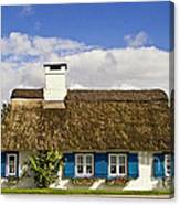 Thatched Country House Canvas Print