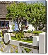 Thatched Roof Cottage Canvas Print