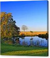 Thatcher Pond Canvas Print