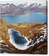 Thawing Spring Fjordland Vista Canvas Print