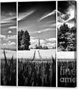 Thaxted Mill Triptych Canvas Print