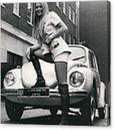 The 14 Millionth Volkswagen Beetle Given To The World Canvas Print