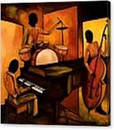 The 1st Jazz Trio Canvas Print