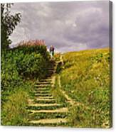 The 23 Steps On Parliament Hill Canvas Print