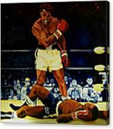 The 2nd Fight  Canvas Print
