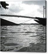 The 2nd Hoogly Bridge Canvas Print