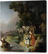 The Abduction Of Europa Canvas Print