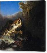 The Abduction Of Proserpina Canvas Print