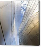 The Abstract Curves Of The Disney Concert Hall Canvas Print