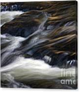 The Abstract Of Motion Canvas Print