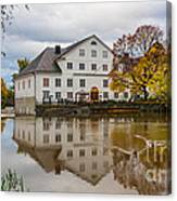 The Academy Mill Ws Canvas Print