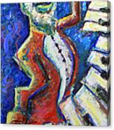 The Acid Jazz Jam Piano Canvas Print