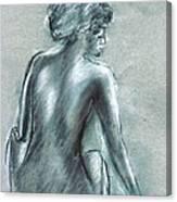 The Actress Canvas Print