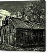 The Adirondack Mountain Region Barn Canvas Print