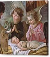 The Adoration Canvas Print