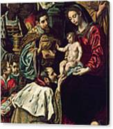 The Adoration Of The Magi, 1620 Oil On Canvas Canvas Print