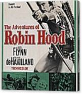 The Adventures Of Robin Hood B Canvas Print