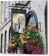 The Advocate Pub Canvas Print