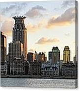 The Afternoon Of The Bund Buildings Canvas Print